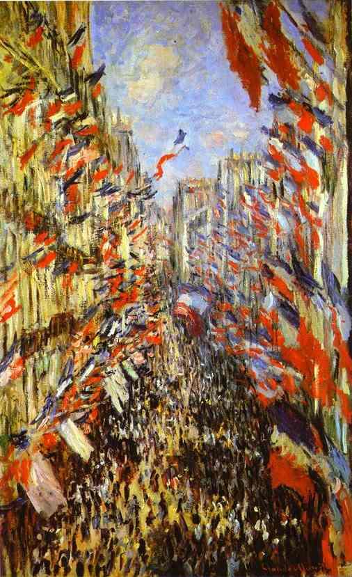 Monet - Fete De La Federation